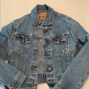 Vintage Levi Strauss Jean Jacket Kid Size Medium